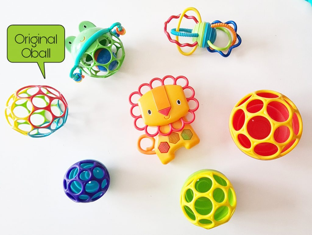 Oball baby toy