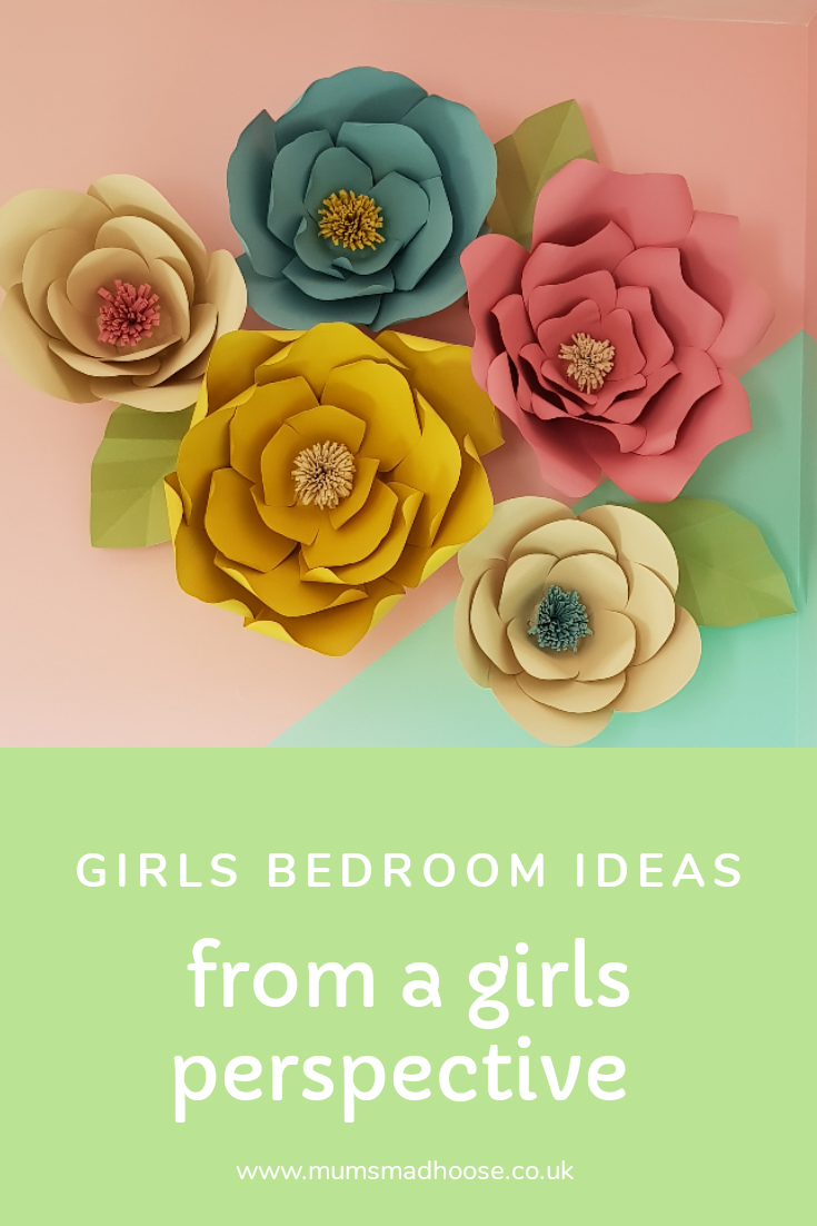 girls bedroom from their persepective
