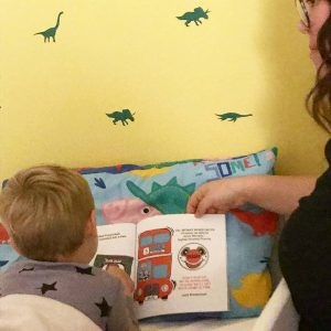 children's book review - granny franny's big red bus